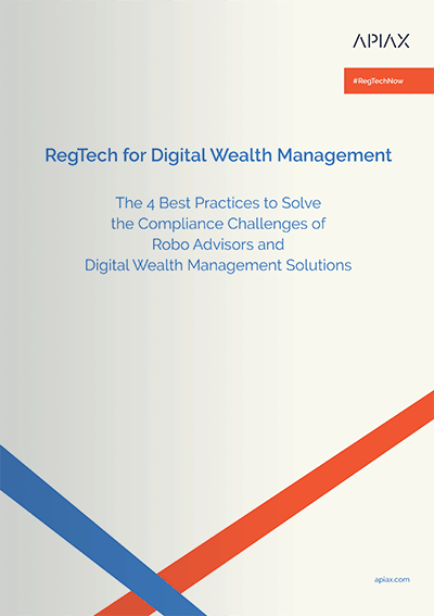 This is a mockup of our whitepaper on RegTech and digital wealth management