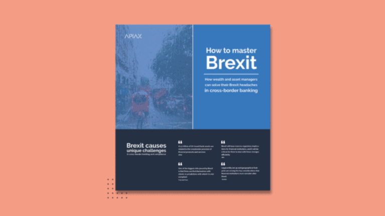 Infographic about how to master Brexit