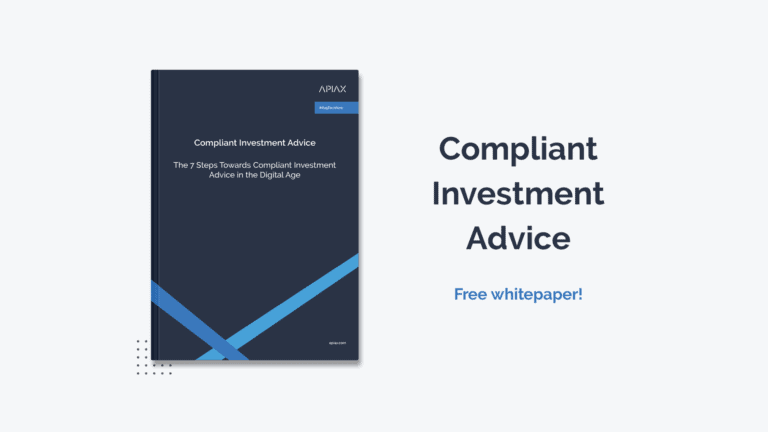 Whitepaper about Compliant Investment Advice