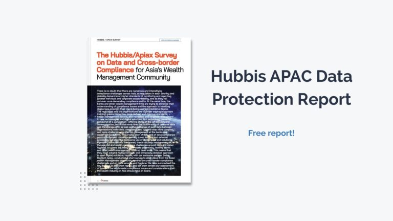 Hubbis APAC Data Protection Report