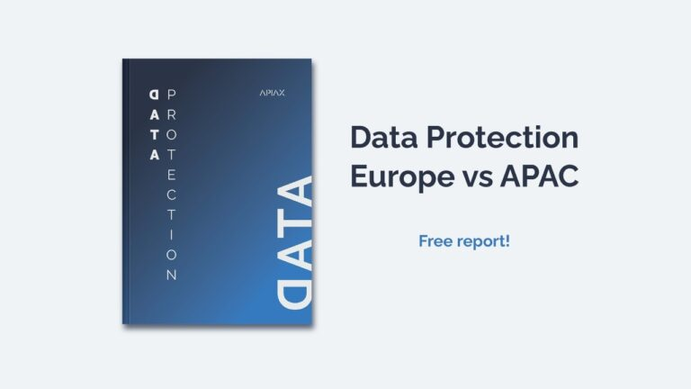 Report about data protection in Europe versus APAC