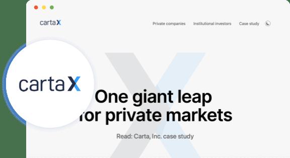 cartaX logo